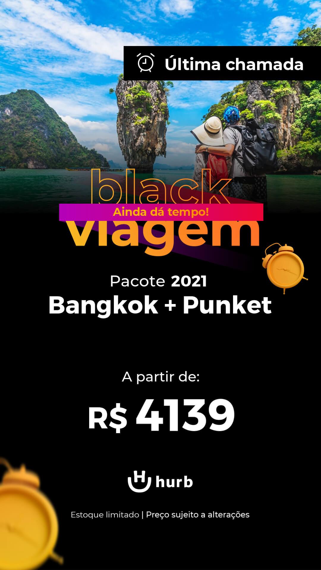 pacote bangkok phuket 2021