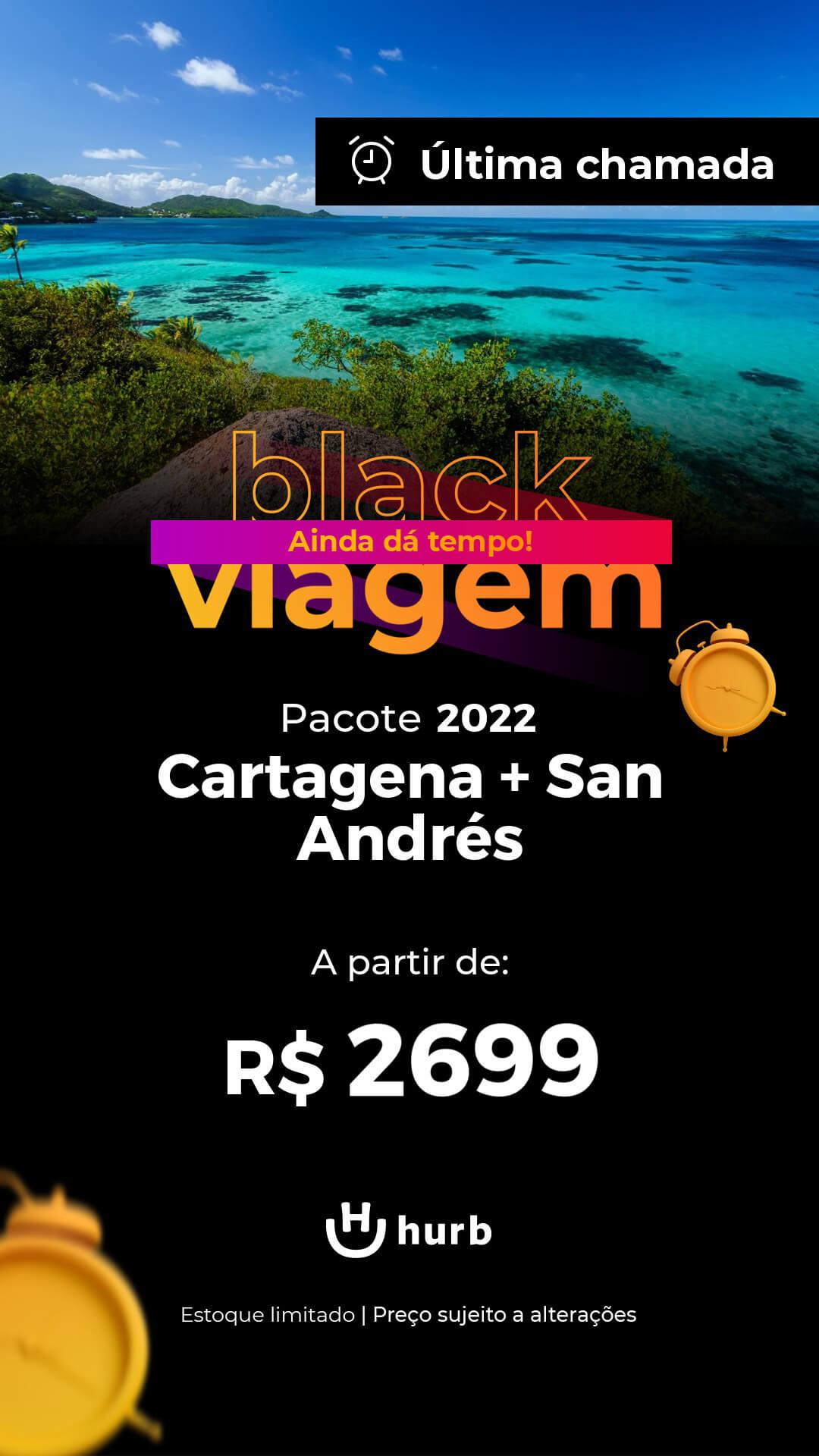 pacote cartagena san andres 2022