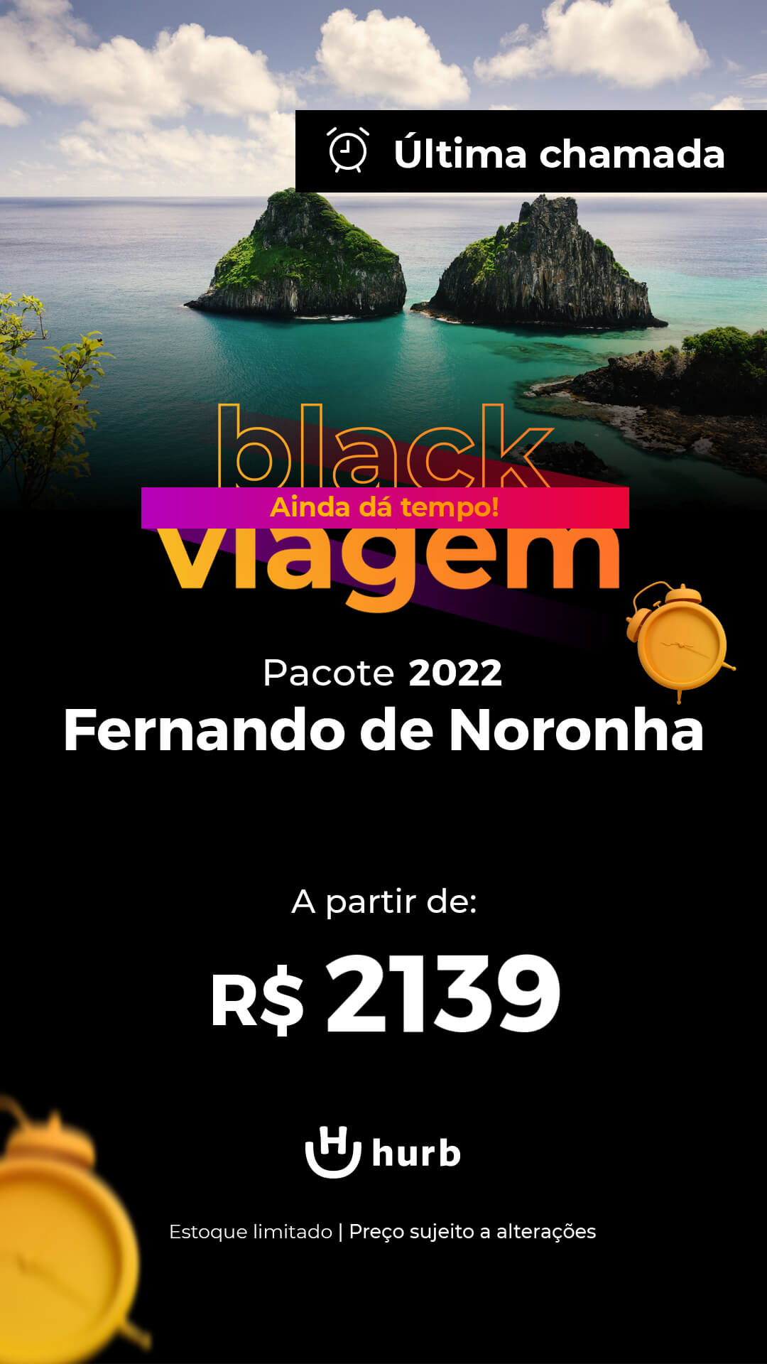 pacote fernando de noronha 2022 black viagem