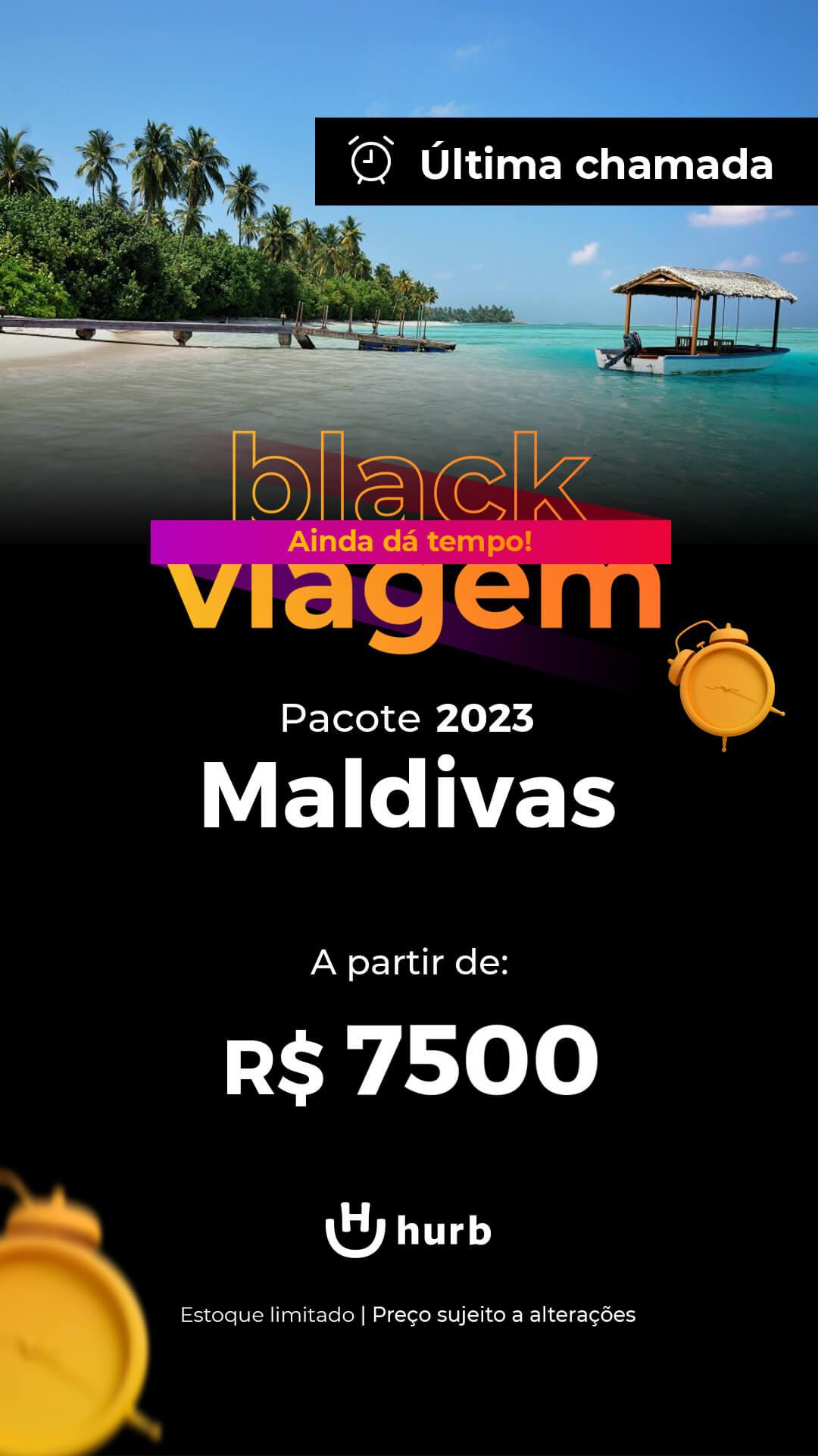 pacote ilhas maldivas 2023