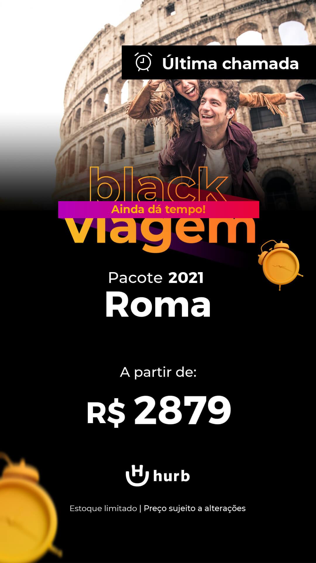 pacote roma 2021