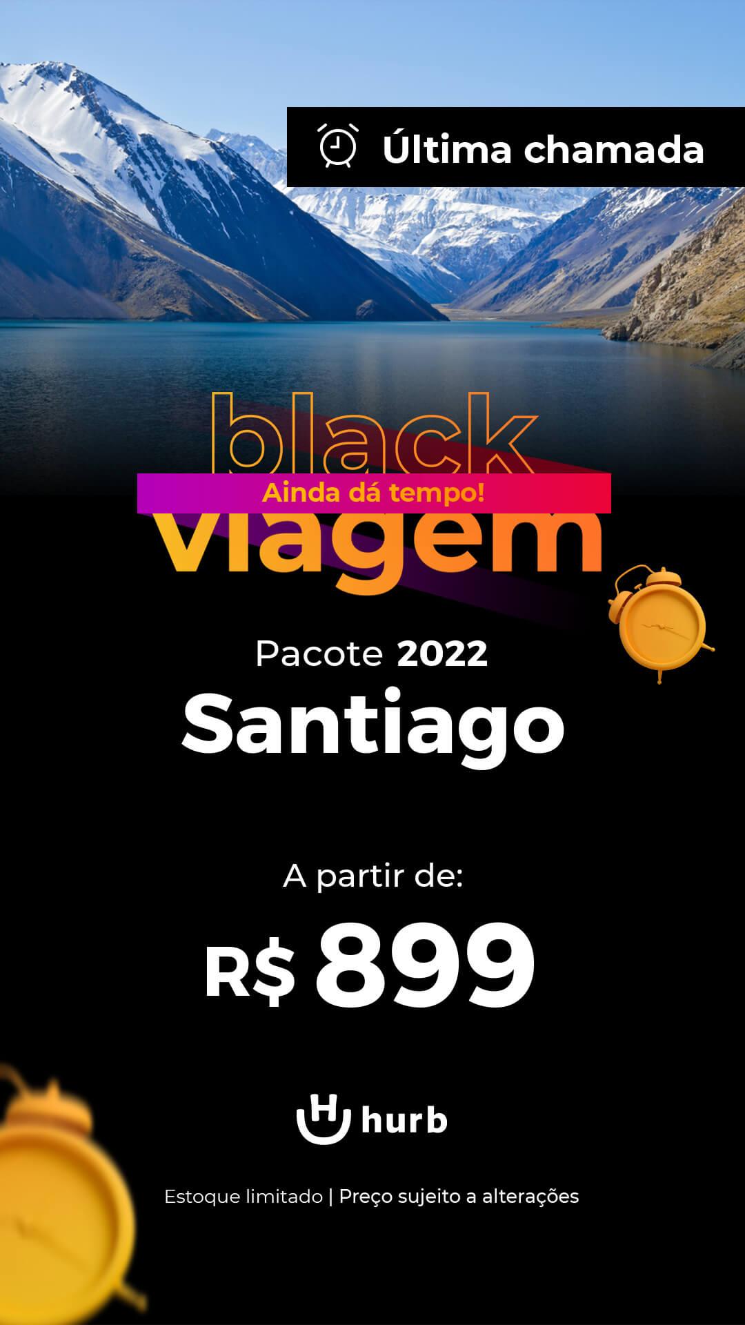 pacote santiago 2022