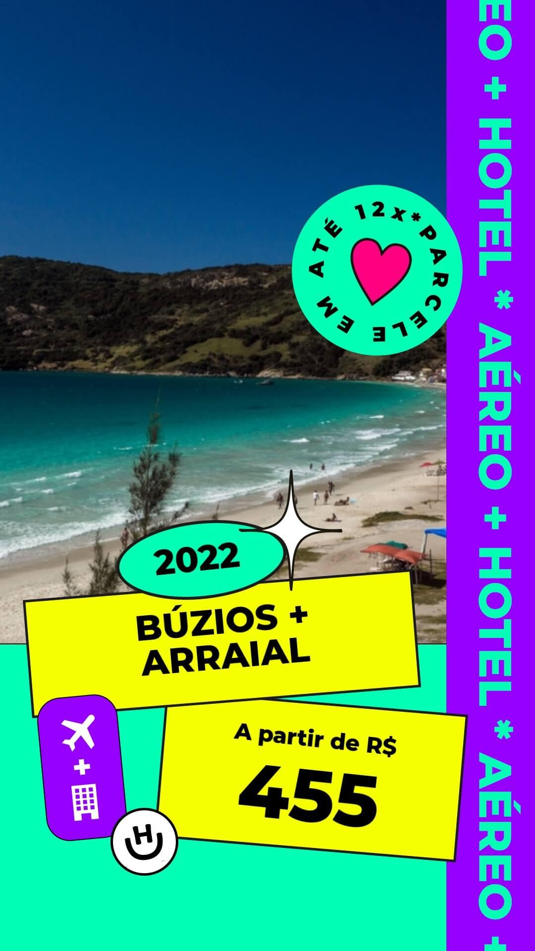 pacote buzios arraial do cabo 2022