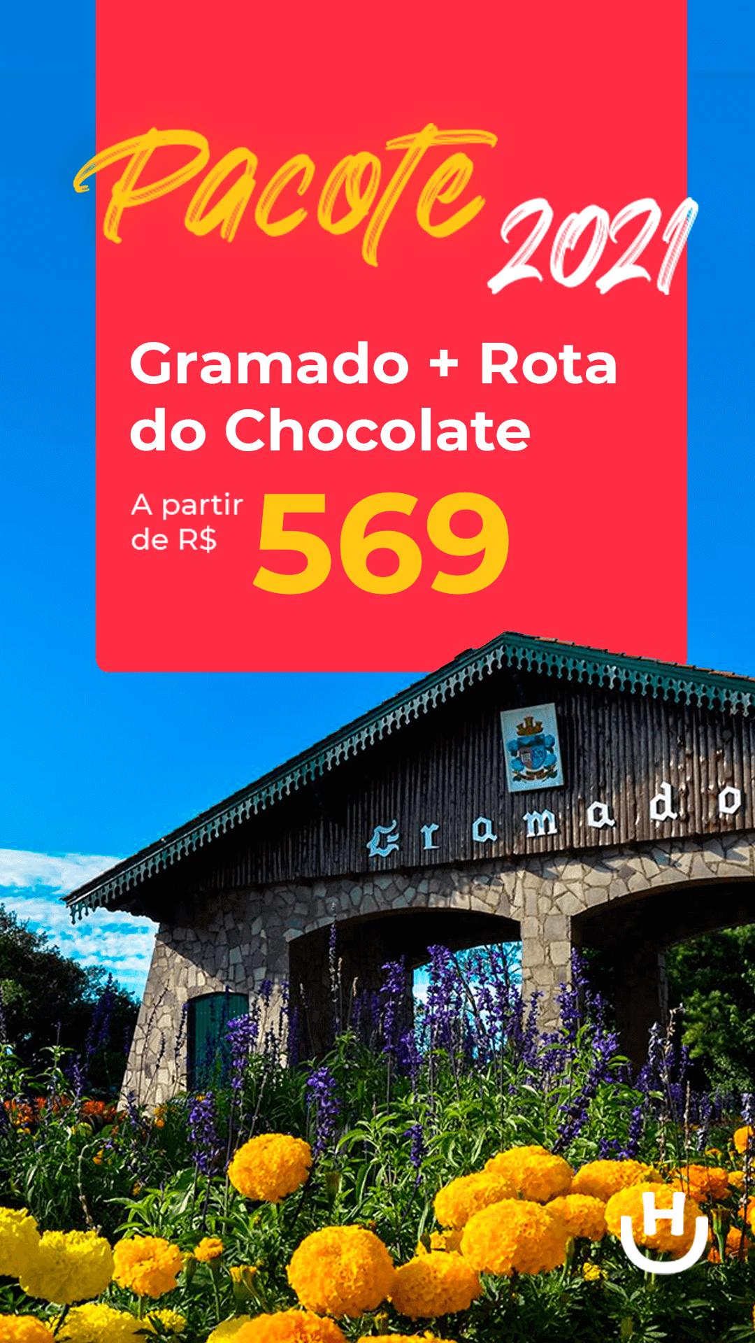 pacote gramado rota do chocolate segundo semestre 2021