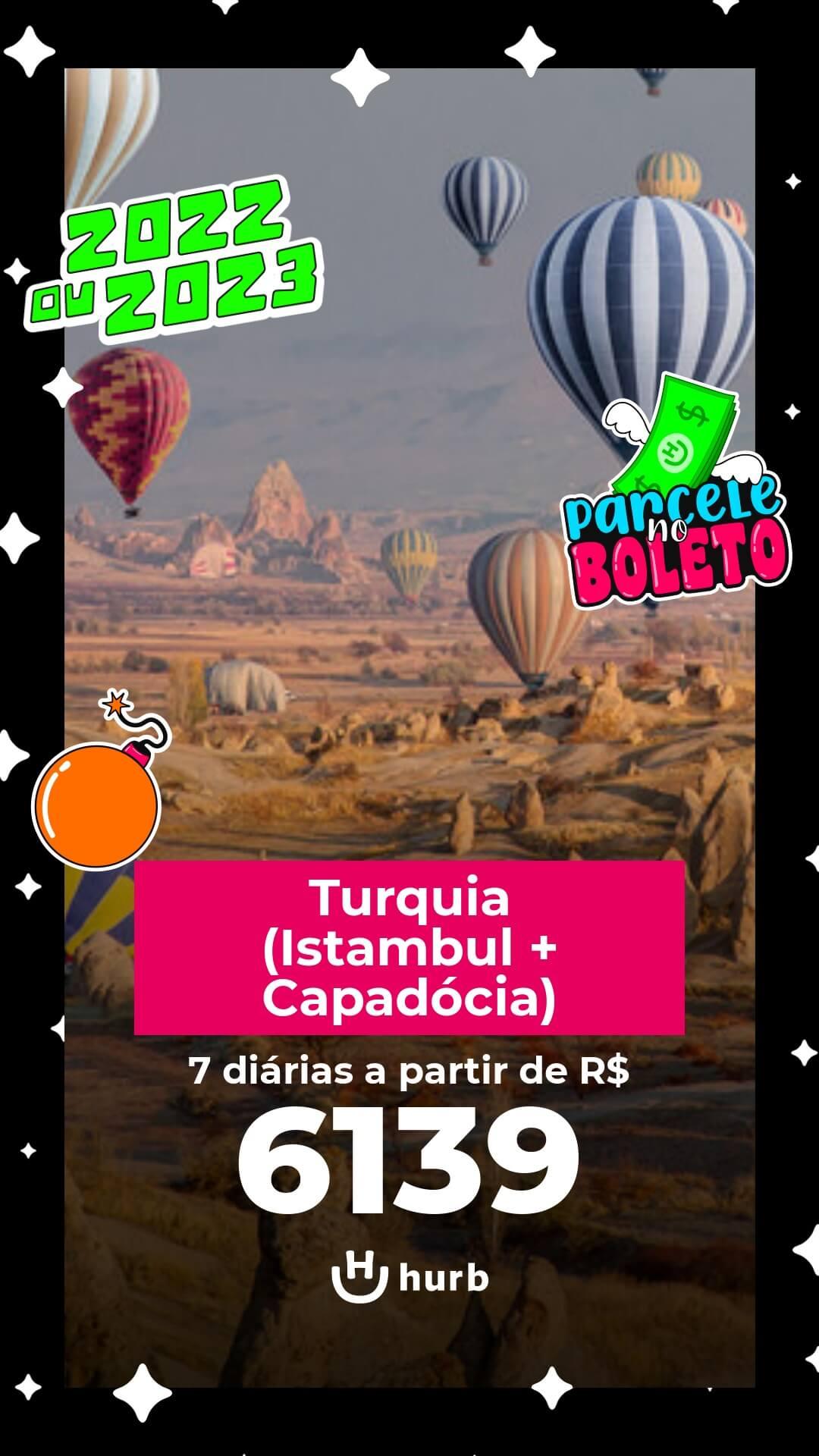 pacote turquia istambul capadocia 2022 e 2023