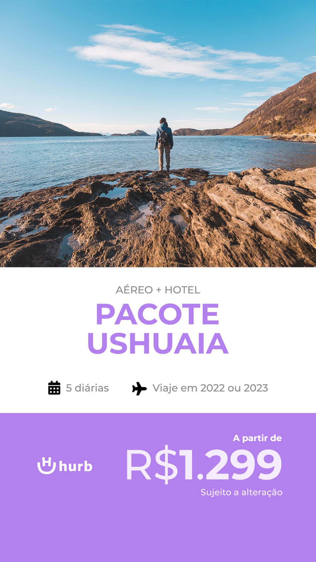 pacote ushuaia 2022 e 2023
